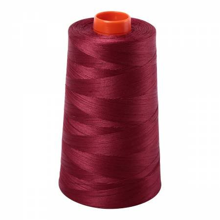 Aurifil  Mako Cotton Embroidery Thread 50wt 6452 yds 2460 Dark Carmine Red
