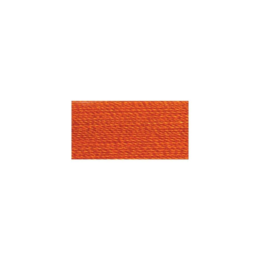 Aurifil Mako Cotton Embroidery Thread 50 wt. 1422 yds 1133 Bright Orange