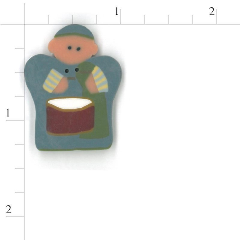 Button - JAB Drummer Boy Large
