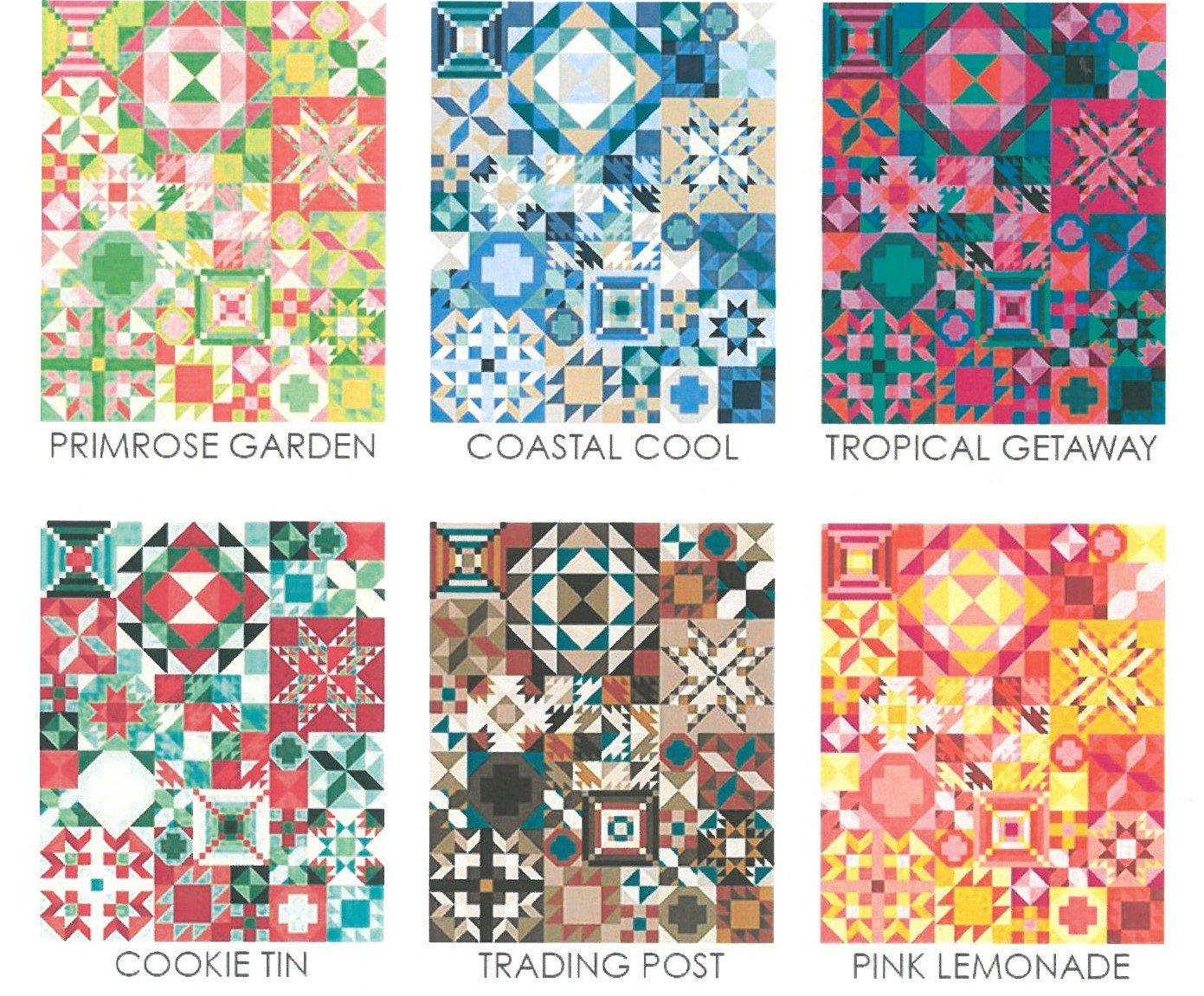 Color Choices for MODA SAL