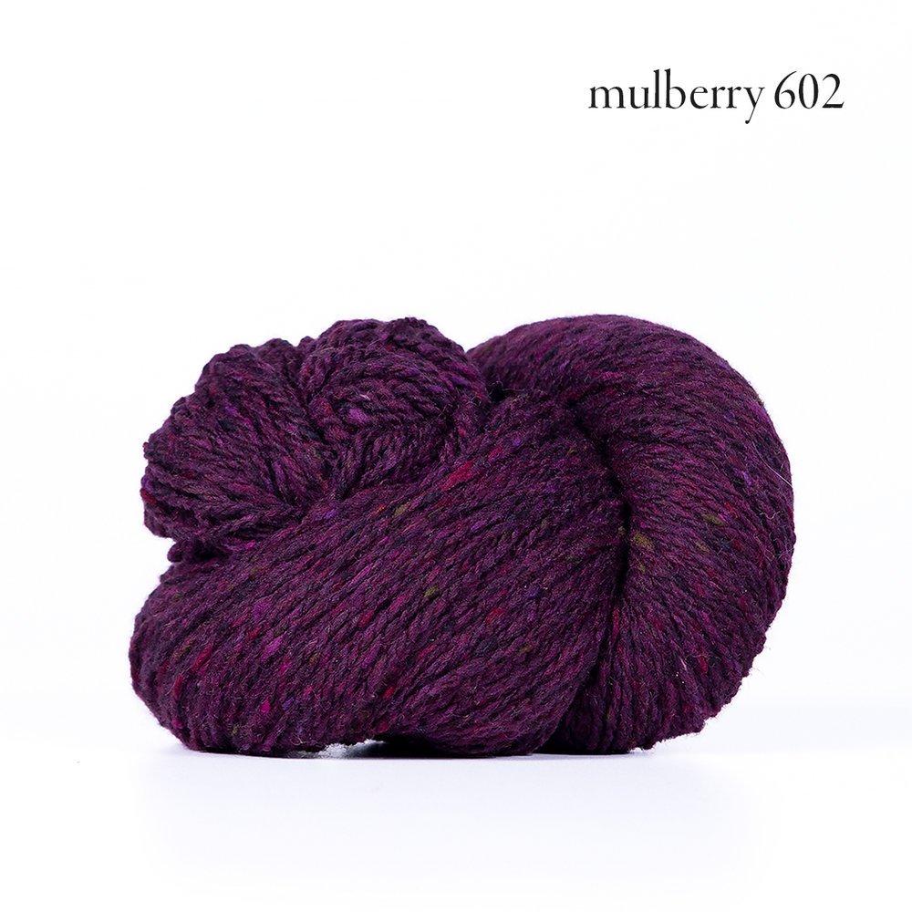 Kelbourne Woolens Lucky Tweed Mulberry