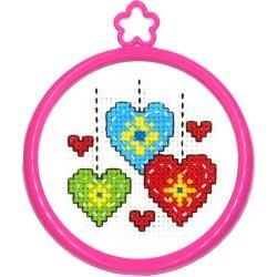 CS Kit My 1st Stitch Hearts