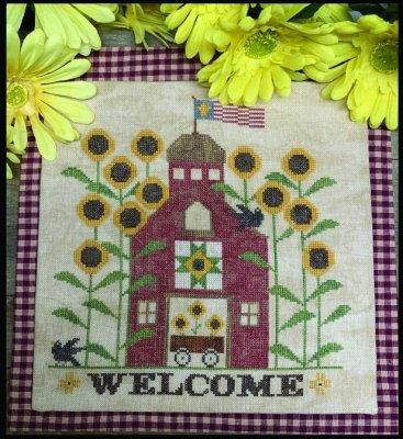 PT CS Needle Bling Sunflower Barn