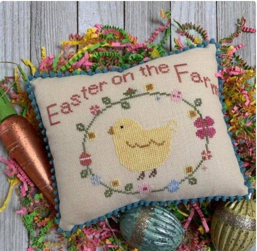 PT CS Needle Bling Designs Easter on the Farm