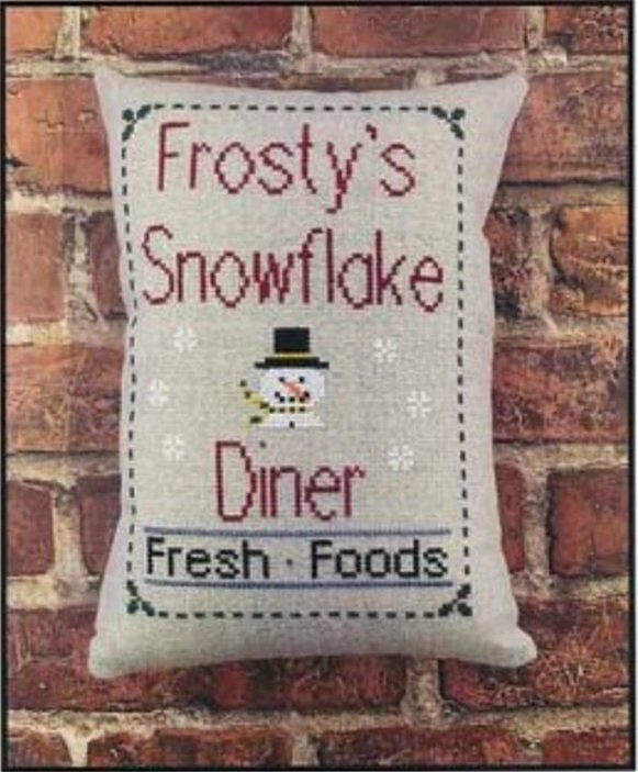 PT CS Needle Bling Designs Frosty's Diner
