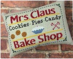 PT CS Needle Bling Designs Mrs. Claus Bake Shop