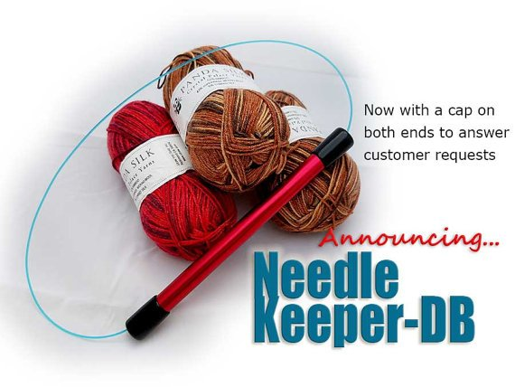 Needle Keeper Dbl Silver