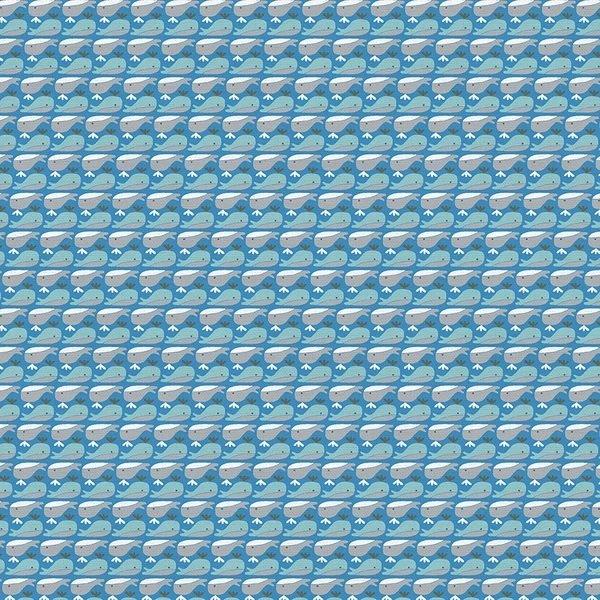 Paintbrush Studio Animal Alphabet Whale Blue