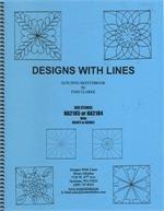 BK Q Designs With Lines Quilting Sketchbook Spider Web