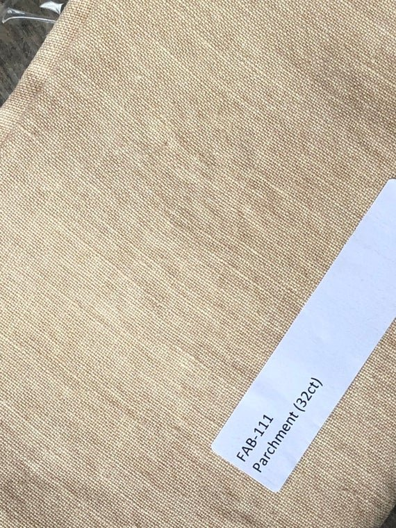 CS Fabric 32ct WDW Linen Parchment F8