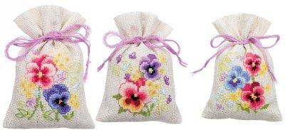 Kit CS Vervaco Violets Bag