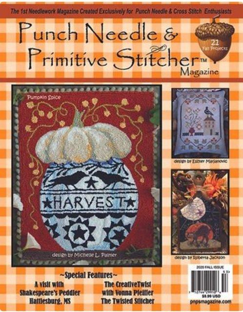 Punch Needle & Primitive Stitcher Fall 2020