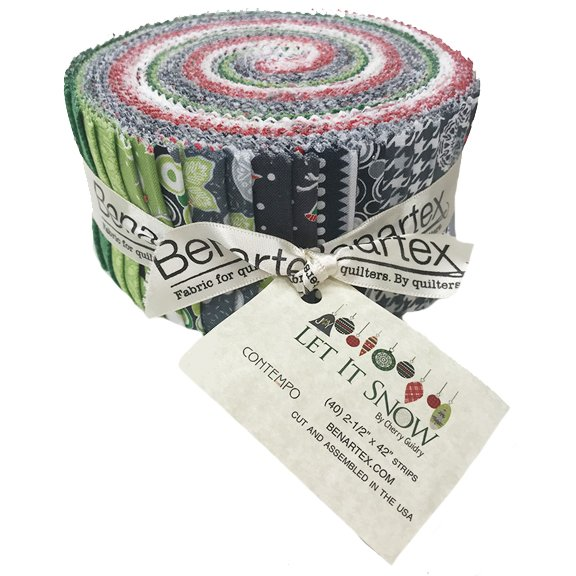 Contempo Let It Snow Jelly Roll