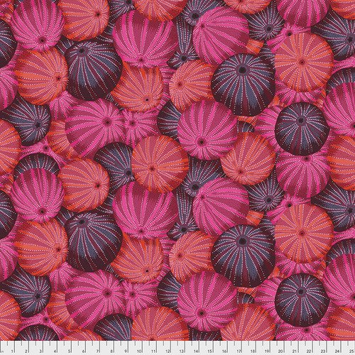 Free Spirit Kaffe Sea Urchins Red