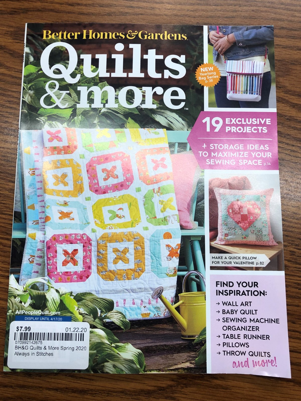 BH&G Quilts & More Spring 2020