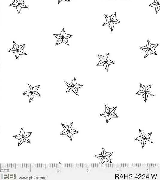 P&B Ramblings White Stars