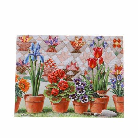 Notecard Set RBQ Flower Pot