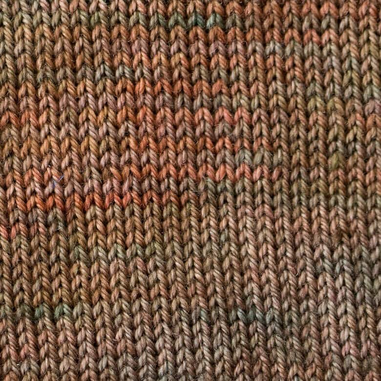 Sweet Georgia Tough Love Sock Copper