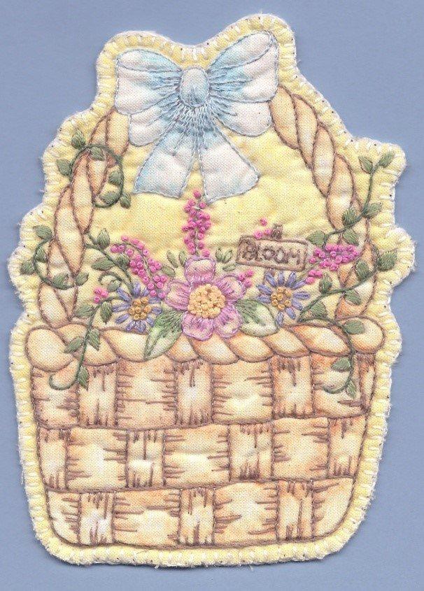 PT HE Chickadee Hollow Heirloom Spring Basket