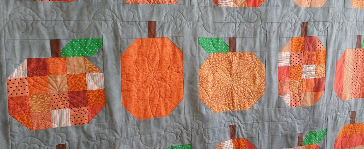 Pumpkin Quilt Finishing Kit