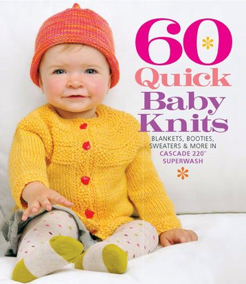 BK KN 60 Quick Baby Knits Blankets Booties Sweaters & More