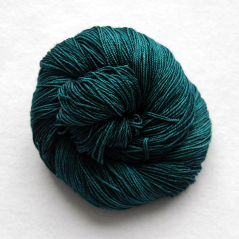 Malabrigo Sock Teal Feather 412
