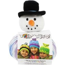 DMC Top This! Hat Kit Snowman