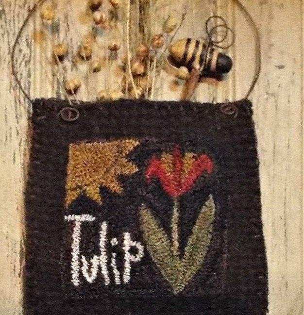 PT PN Teresa's Primitive Treasures Tulip in Bloom