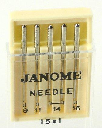 Janome Needles Leather #16