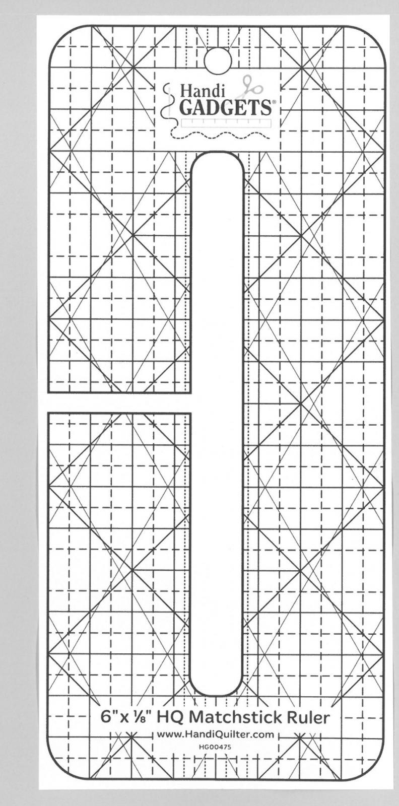 Handi Quilter Ruler Matchstick 1/8