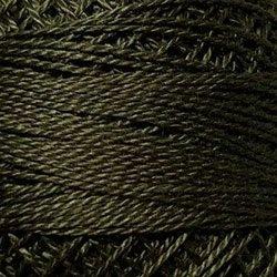 Valdani SZ12 Pearl Cotton Solid Forest Haze 191