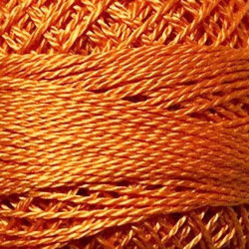 Valdani SZ12 Pearl Cotton Solid Bright Orange Coral 204