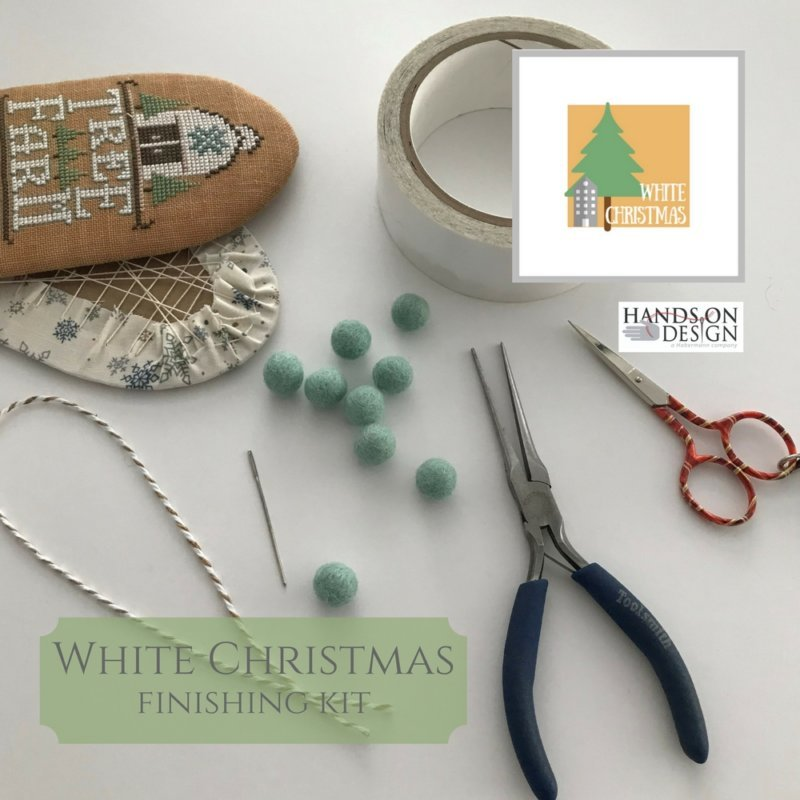 Hands On Designs White Christmas Finishing Kit