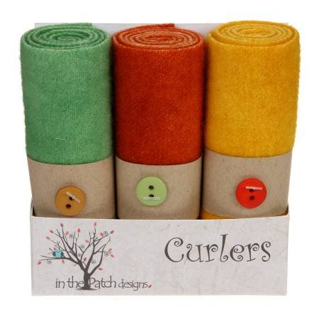 Wool Curlers 4 in x 16 in. Hocus