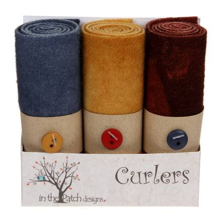 Wool Curlers 4 in x 16 in.