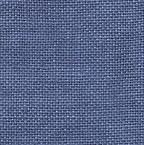 CS Fabric 35CT WDW Linen Blue Jeans F8