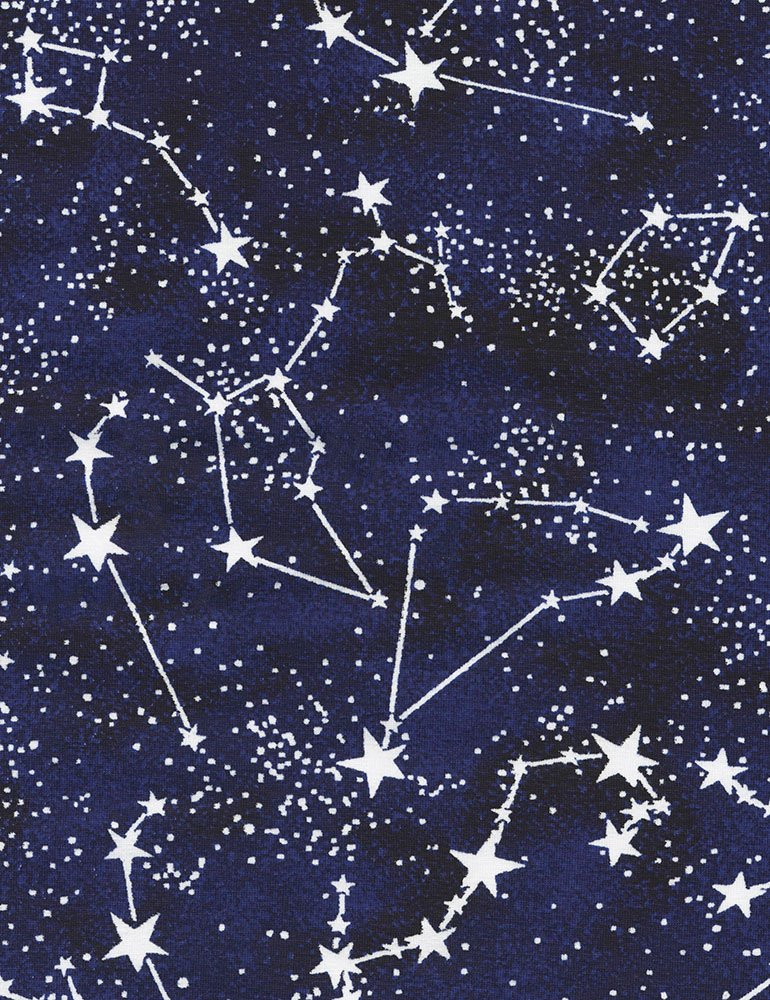Timeless Treasures Constellations Knit