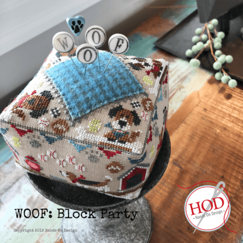CS Kit Hands On Design Block Party Woof with Pin Set