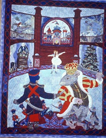 Christmas : nutcracker quilt - Adamdwight.com