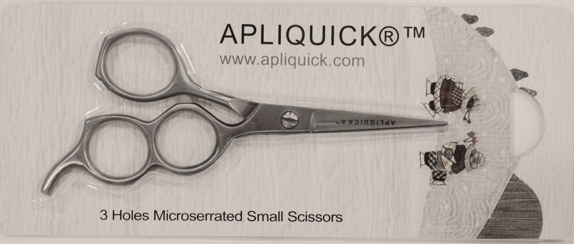Apliquick 3 hole scissors/Medium