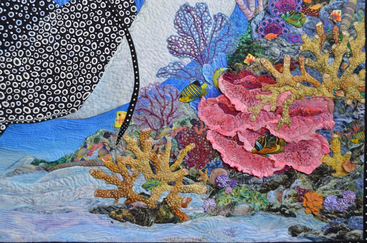 Sea Fan thread embellishment kit