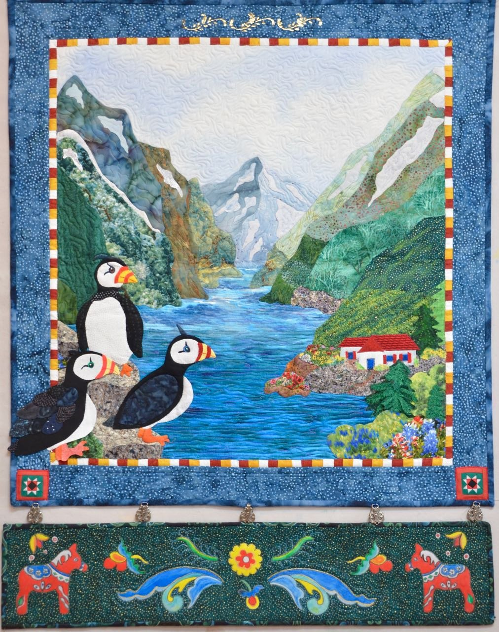 Nordic Adventures  applique pattern