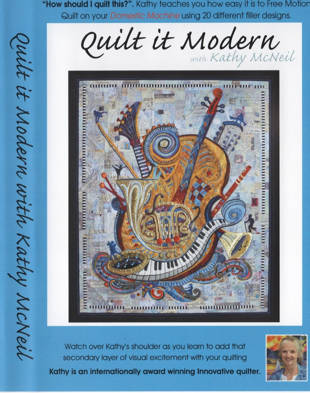 Quilt it Modern DVD set  and CD