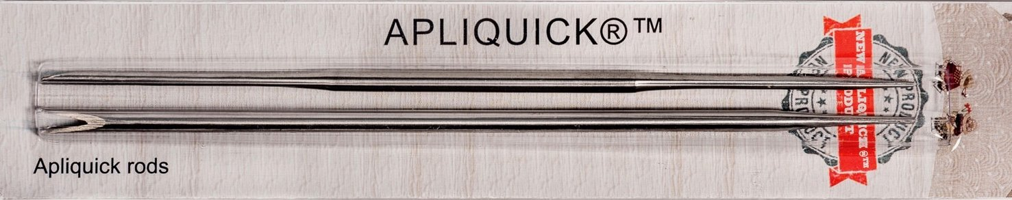 Apliquick turning rods