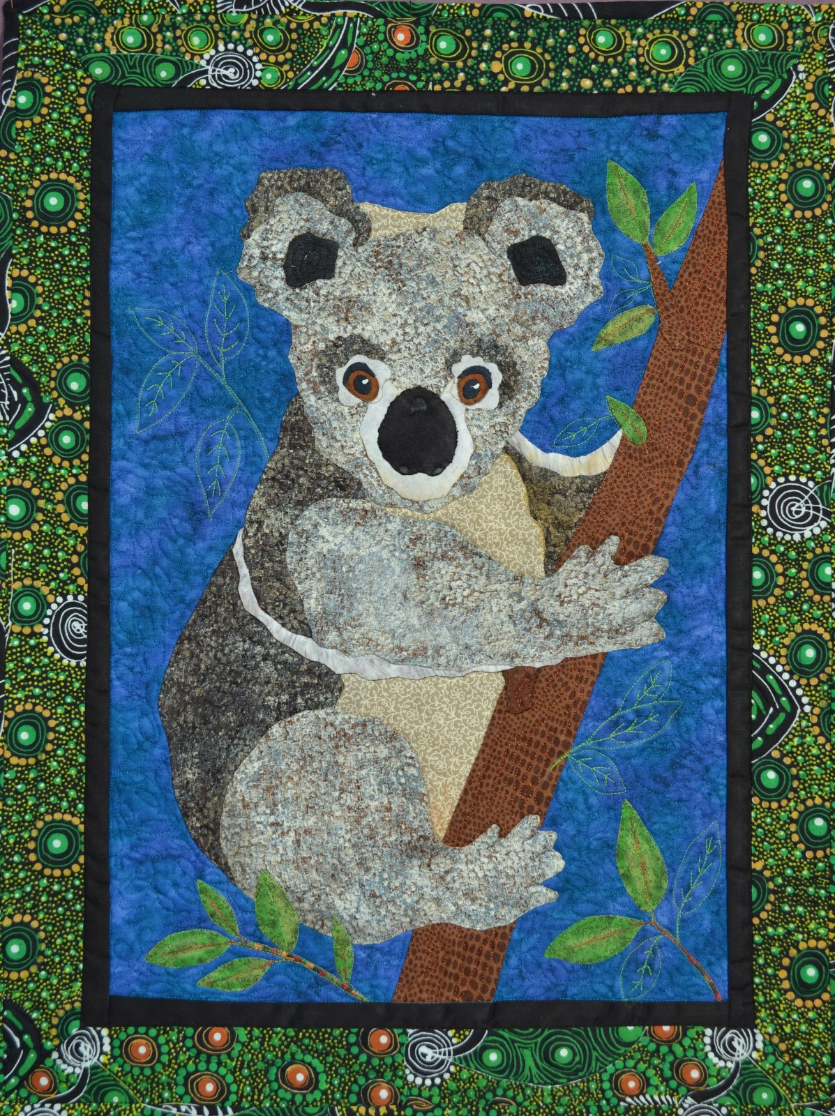 Koala applique pattern