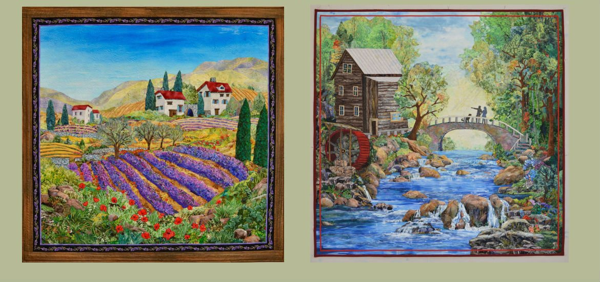Kathy McNeil Art Quilts | Award-Winning Quilt Artist : quilt paintings - Adamdwight.com