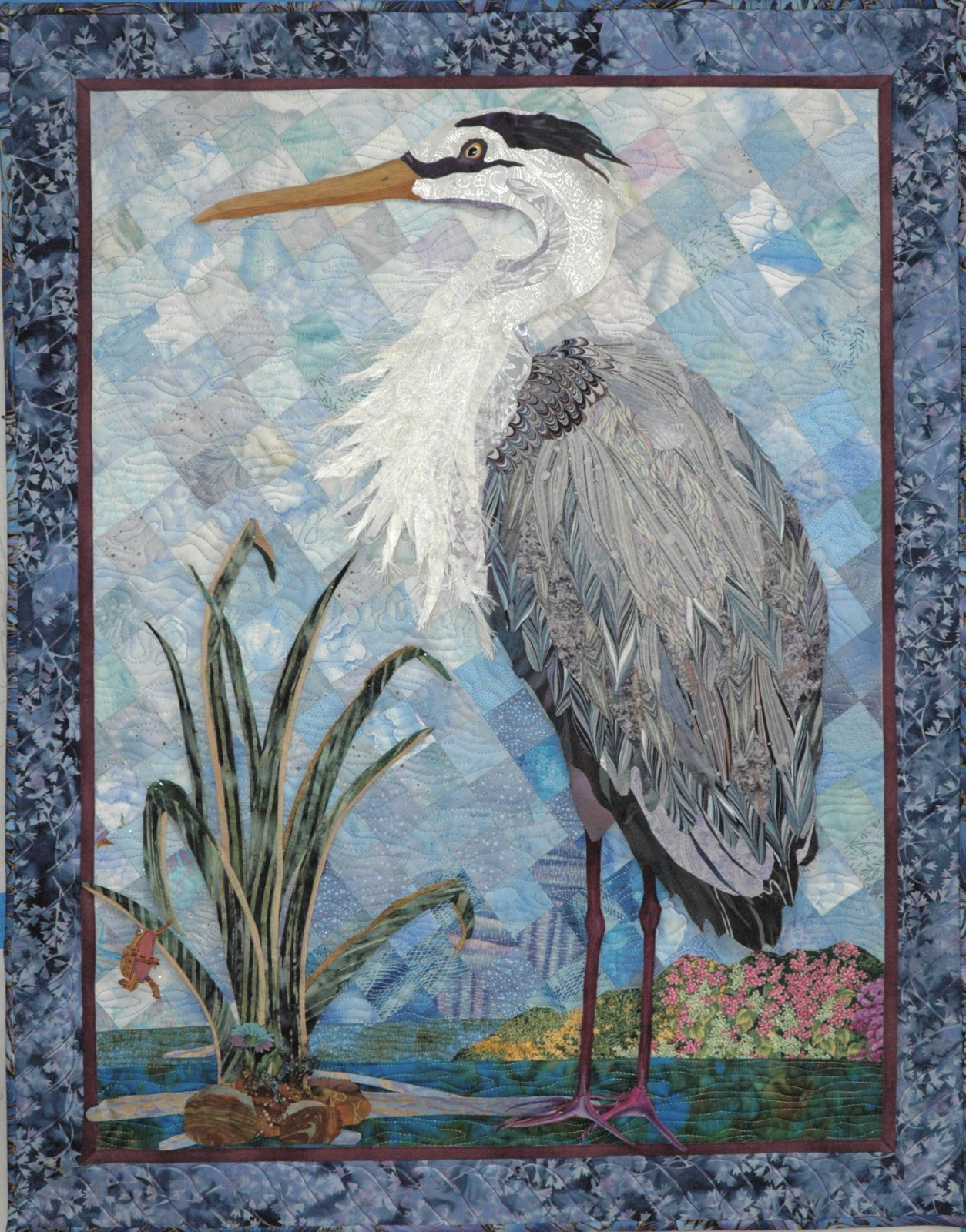 Blue Heron pattern