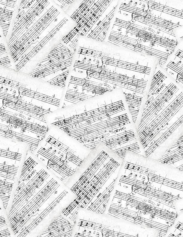 Interlude - Sheet Music White/Gray 24056-199