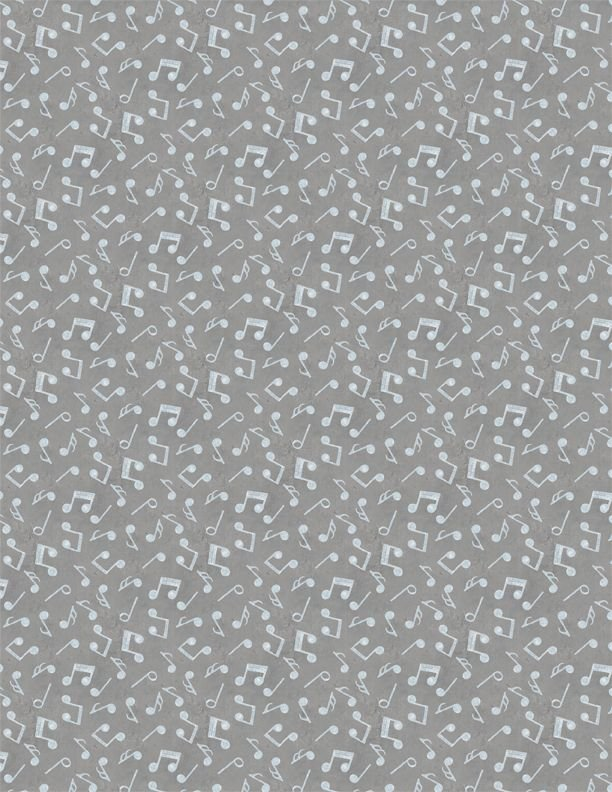 Interlude - Notes Tossed Gray 24058-914