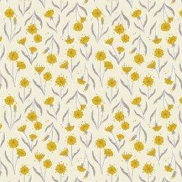 Petal Pusher - Dandelions in Cream